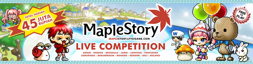 Live Competition MapleStory @ IGS 2014