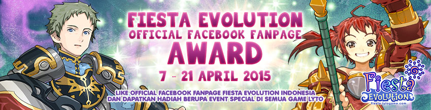 [FE] Fiesta Evolution Official Facebook Fanpage Award