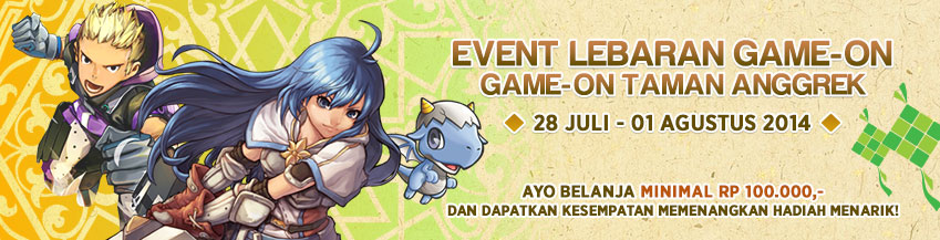[GAMEON] EVENT �LEBARAN GAME ON�