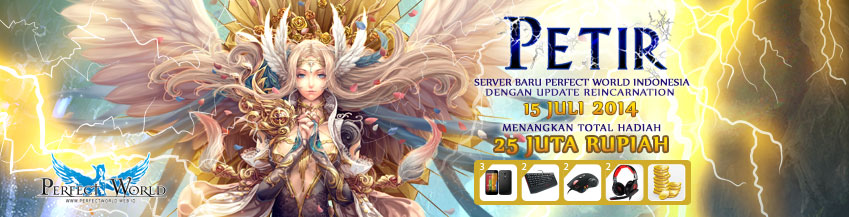 [PW] Server Baru Perfect World - Server Petir