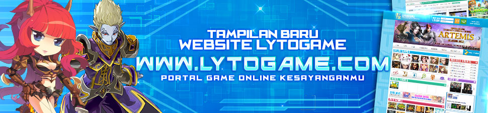 [LYTO] Tampilan Baru Website Lytogame