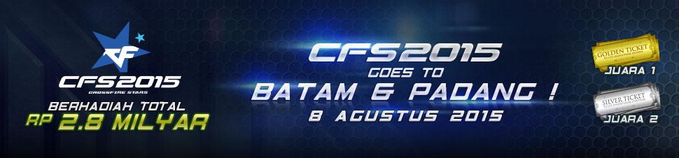 [LYTO] CFS 2015 : Goes to Batam & Padang