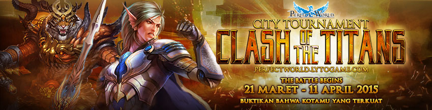 [PW] City Tournament : Clash of the Titans 2015
