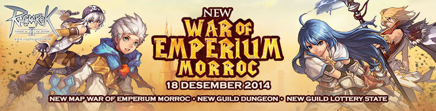 [UPDATE] New War Of Emperium Morroc (COMING SOON)