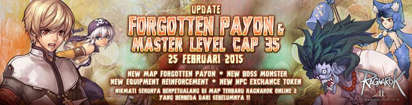 [RO2] Update : Forgotten Payon