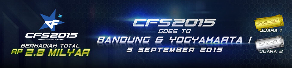 [LYTO] CFS 2015 : Goes to Bandung dan Yogyakarta
