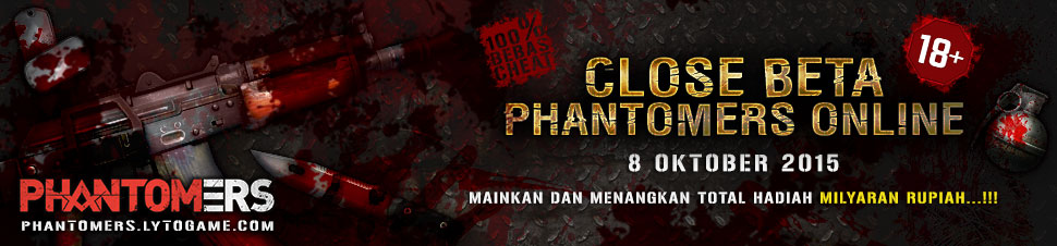 [Phantomers]Close Beta Phantomers Online Indonesia