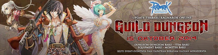 [RO] Update Guild Dungeon (15 Oktober 2014)