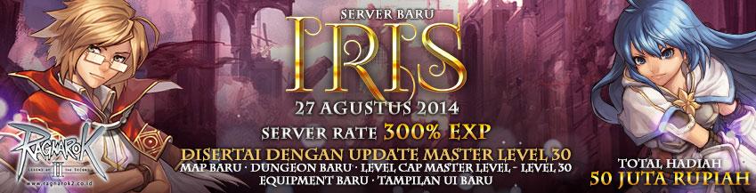 Server Baru IRIS (27 Agustus 2014)