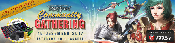 [Rohan] Community Gathering 2017