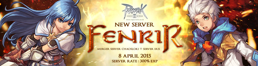 [RO2] Server Baru : fenrir (Merger Sever ChaosLoki + Server Iris)