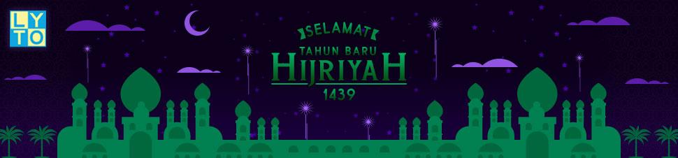 [LYTO] Selamat Tahun Baru 1439 Hijriyah