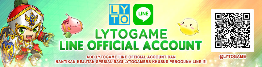 [LYTO] Grand Launching Lytogame LINE Official Account