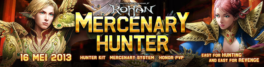 [RH] Update Mercenary Hunter 16 Mei 2013