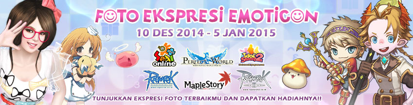 [RO1-RO2-PW-IDS-MS-SEAL] EVENT FOTO EKSPRESI EMOTICON