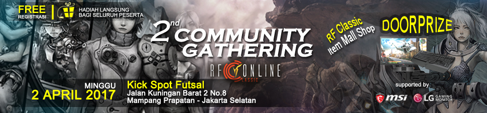 [RFC] 2nd Community Gathering RF Classic