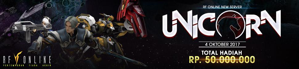 [RF Online] New Server UNICORN (04 Oktober 2017)