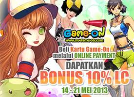 [LYTO] Bonus 10% LYTO Credits dengan TOP UP melalui Online Payment