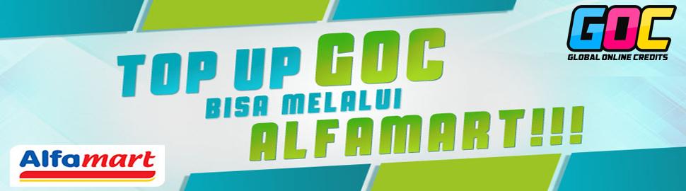 [GOC] Top Up GOC Bisa melalui Alfamart