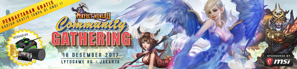 [Perfect World] Community Gathering 2017
