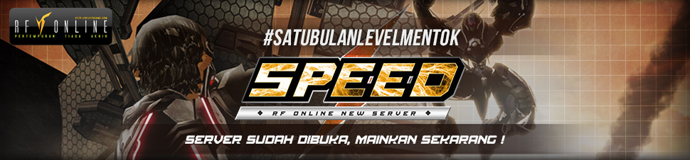 [RF Online] #SATUBULANLEVELMENTOK - Speed Server