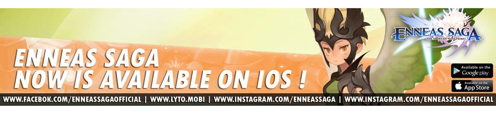 [Enneas Saga] tersedia di IOS