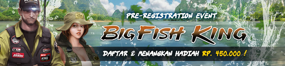 BIG FISH KING] Pre Register Telah Dibuka !