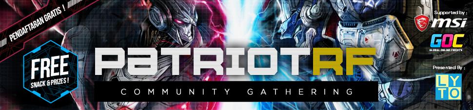 [RF] Communnity Gathering Patriot RF