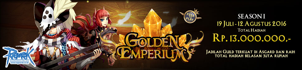 [RO] Golden Emperium Asgard Season 1