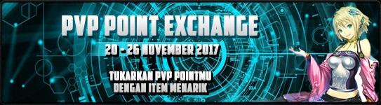 [EVENT] PVP POINT EXCHANGE (20 - 26 November 2017)